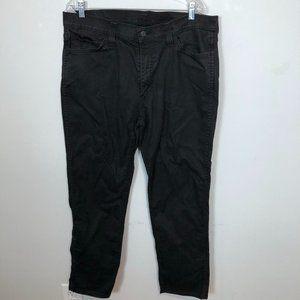 LEVI'S 541 Black Straight Leg Black Denim Jeans